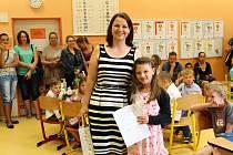 Předávání vysvědčení na základní škole Mnichovská Kolín V.