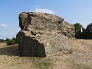 Lechův kámen u Kouřimi.