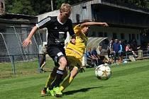 Přípravné utkání FK Kolín -Jihlava U21 (2:2).