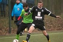 Z přípravného utkání FK Kolín - Ostrá (1:1).