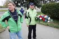 Minutou ticha uctili památku hrdinů i běžci