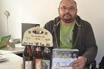 Marek Mašín získal karton piv značky Rohozec, sázenku do sázkové kanceláře Chance a také kalendář fotbalového klubu Real Madrid.