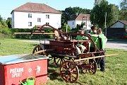 Hasiči z Přehvozdí oslavili sto dvacet let existence na fotbalovém hřišti.