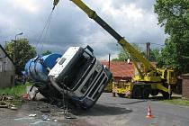 Dopravní nehoda v Olešce, 27. května 2010