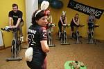 Dne 4. 4. 2009 proběhl v JBI sport fit studiu velikonoční spinning maraton, pod názvem Jen počkej zajíci.