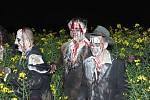 Zombie na hřbitově? To je kapela natáčela klip