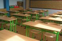 Nové vybavení základní školy v Býchorech