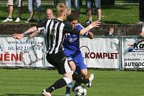 Z utkání FK Kolín - Strakonice (3:2).