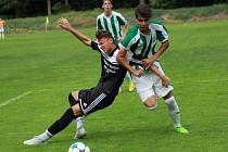 Z utkání divize mladšího dorostu Kolín - Střešovice (4:0).