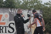 Nedělní odpoledne ve Viticích zpestřil Timbersports.