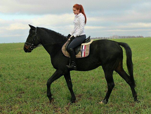 """""""Mým největším životním štěstím jsou koně,"""" říká Veronika. Blesk se narodil s deformovanýma nohama. Měl skončit na jatkách. Díky Veronice z něj vyrostl nádherný zdravý kůň."""