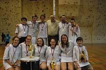 Mladí korfbalisté Kolína získali zaslouženě zlaté medaile.
