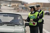 Zvýšené policejní hlídky  o velikonočním víkendu
