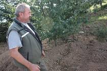 DNES už s úsměvem může mluvit Zdeněk Körbl o nálezu granátu na vlastní zahradě.