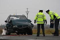 Nehoda u Tuklat. 28. října 2011