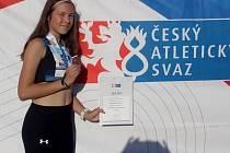 Oštěpařka Anna Radikovská.
