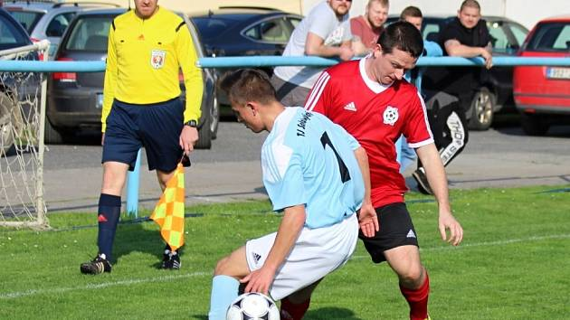 Z utkání Tuchoraz - Býchory (3:1).