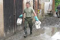 Povodeň v Mlékovicích
