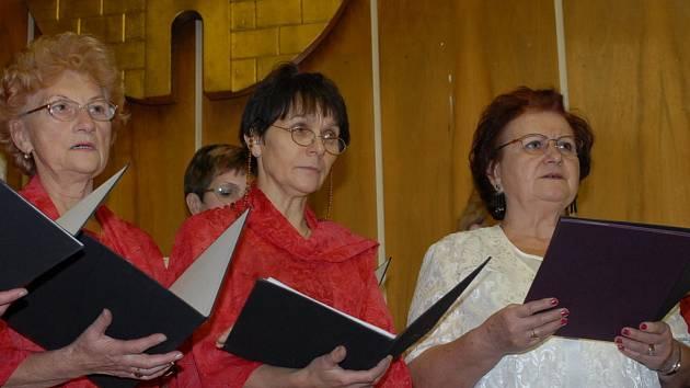 Z vystoupení kolínských pěveckých sborů.
