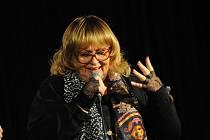 Naďa Urbánková zazpívala v Kolíně
