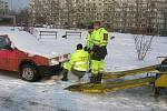 Odtahy autovraků 17.12.2009