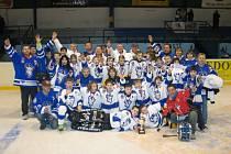 Hokejová pátá třída skončila na republice v Novém Jičíně druhá.