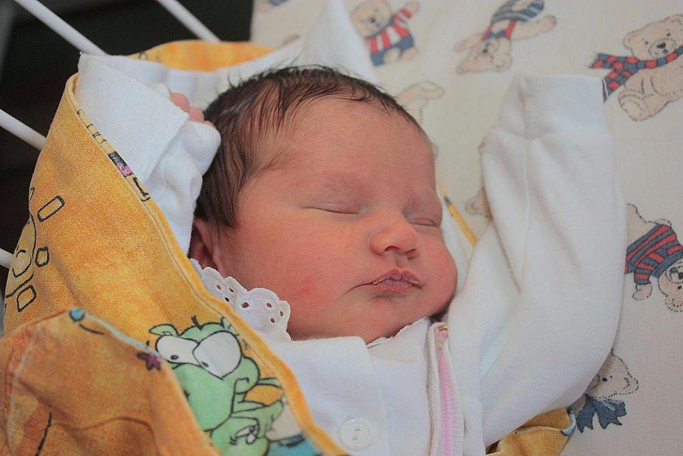 Denisa Holoubková bude mít šťastné číslo dva, ve svém rodném listě totiž má dvojek hned několik. Narodila se 22. února 2011, a to s výškou 48 centimetrů a váhou 3100 gramů. Společně s rodiči Olgou a Pavlem a pětiletou sestrou Verčou bude bydlet v Kolíně.