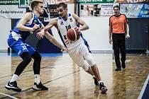 Z utkání BC Kolín - Ostrava (82:89).