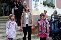 První školní den v Základní škole Červené Pečky