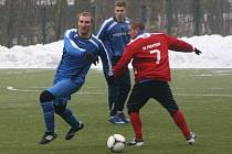 Z přípravného utkání FK Kolín - Převýšov (1:0).