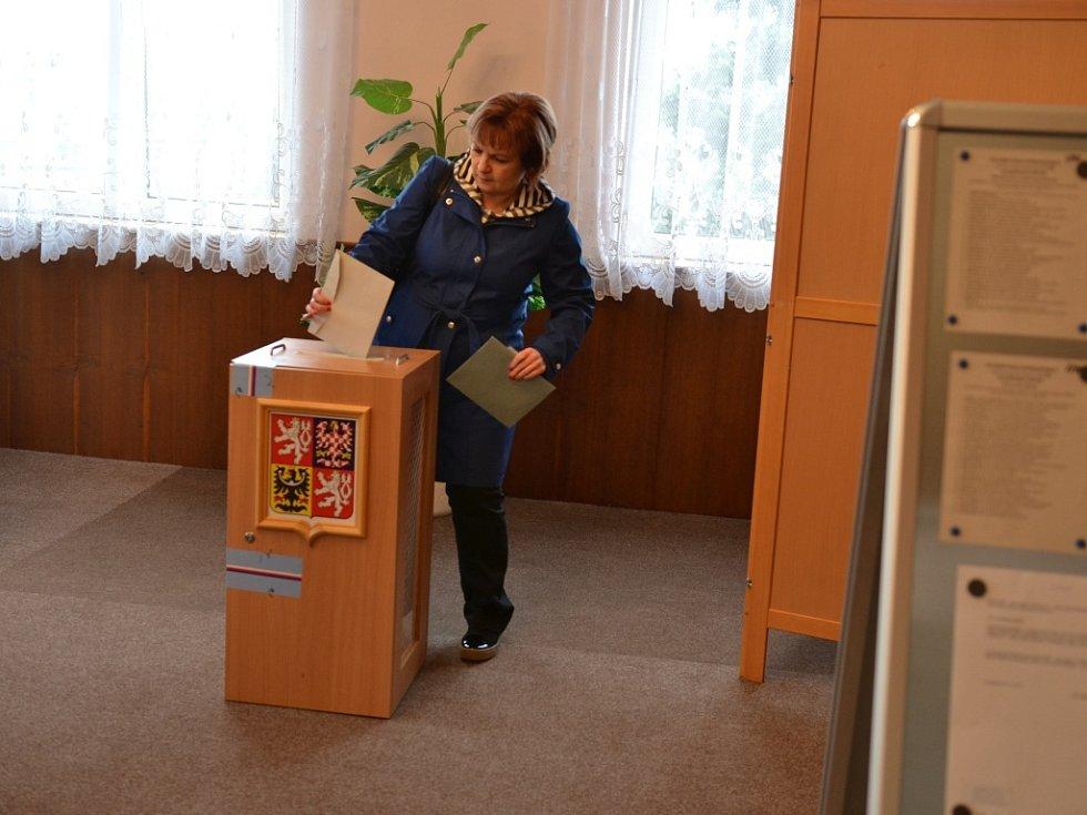 Volební místnost Radim, Kolínsko.