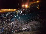 Dopravní nehoda v Pučerech
