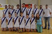 Kolínští korfbalisté obsadili v letošním ročníku extraligy druhé místo.