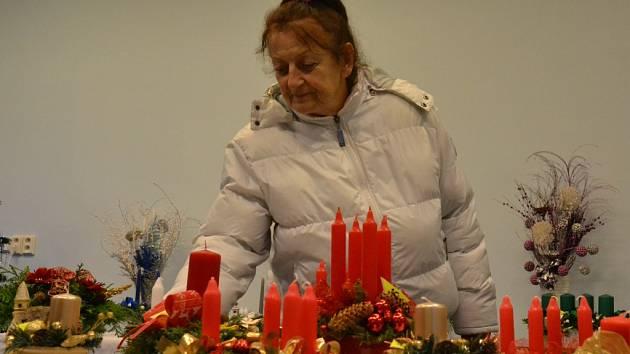 Adventní výstava v Radimi.