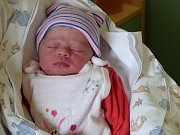 Adéla Kalužová se narodila 10. května 2018. Její míry byly 2400 gramů a 47 cm. V Českém Brodě bude bydlet s maminkou Petrou, tatínkem Vaškem a dvojčaty Adamem a Davidem (10).
