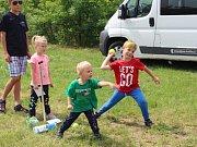 Děti si užily odpoledne U Dvou vorvaňů.