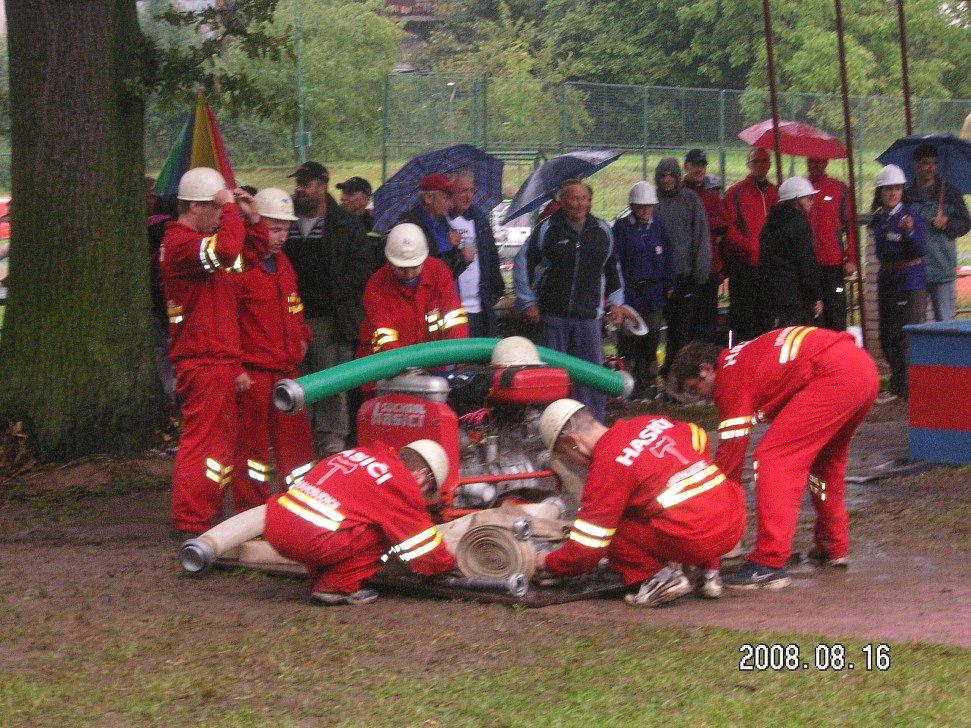 Oslavy 670. výročí založení Drahobudic a 110 let trvání hasičského sboru