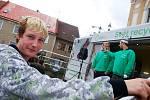 Interaktivní návěs Svět recyklace zastavil v Českém Brodě