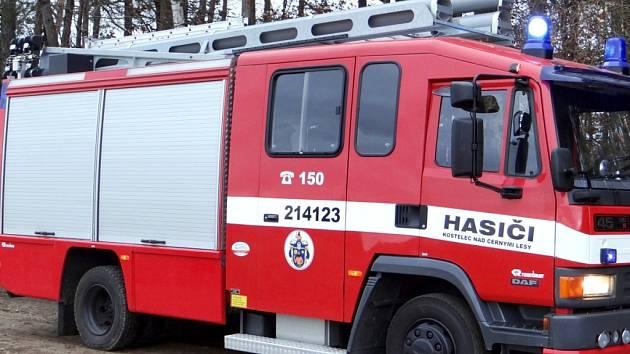 Nové hasičské auto. Ilustrační foto.