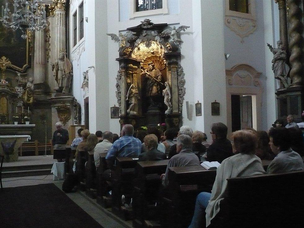 Benešovský kostel a Noc kostelů v roce 2017.