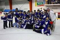 Hokejisté páté třídy skončili na republice na čtvrtém místě.