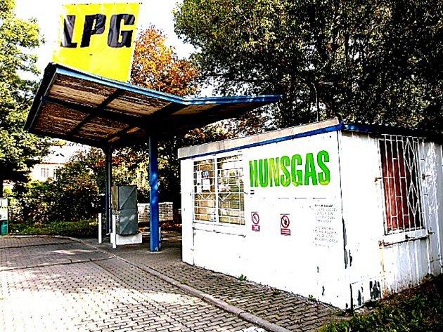 Čerpací stanice LPG v Havlíčkově ulici
