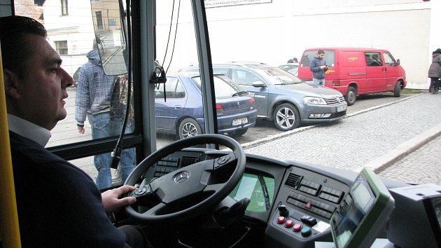 Prezentace nových autobusů Městské hromadné dopravy v Kolíně