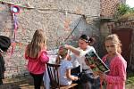 V Polepech se na zahradě Vébrovy restaurace konalo posvícení.