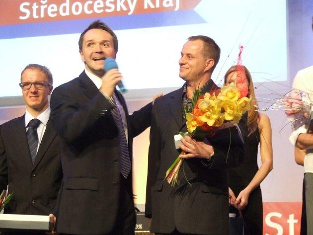 """Z vyhlášení výsledků ankety """"Sportovec kraje"""" za rok 2008."""