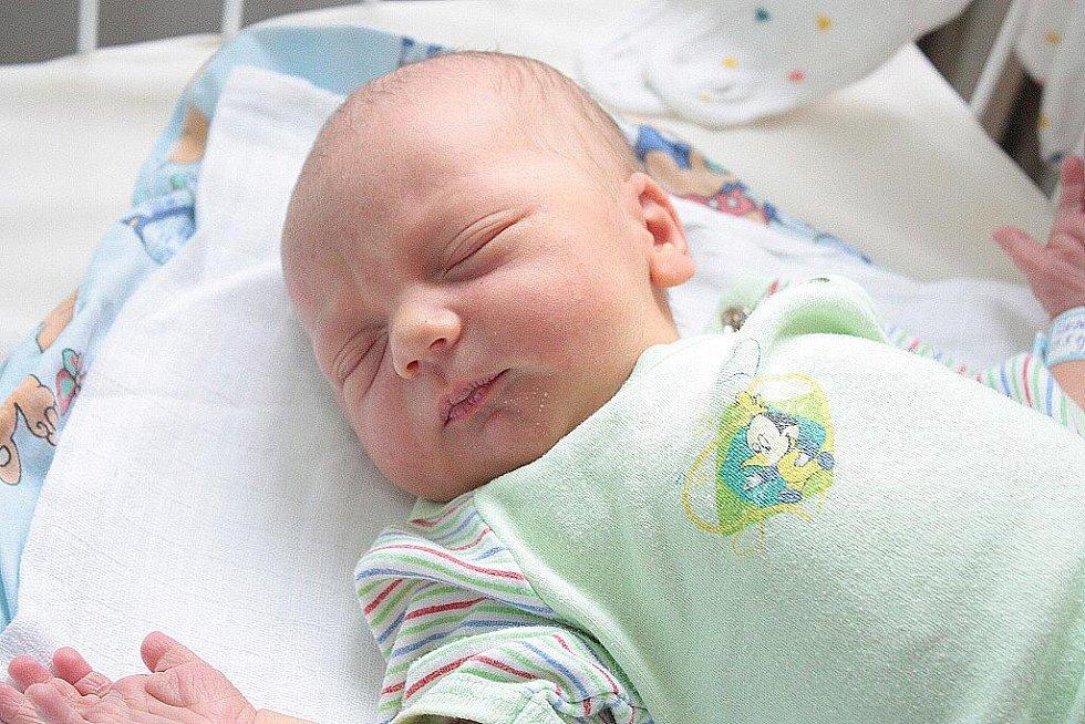 David Šindelka se narodil 25. května 2010, kdy měřil 48 centimetrů a vážil 3510 gramů. S rodiči Veronikou a Robertem Šindelkovými zamíří brzy domů do Dobrého Pole za dvouletou sestrou Terezkou.