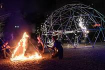 Gasparáda 2019 rozvířila kulturní dění na kolínském Karlově náměstí.