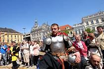 Na krvavé dějiny Tudorovců vzpomínal Na Jízdárně Shakespeare
