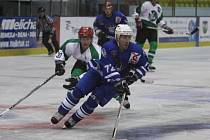 Z přípravného hokejového utkání Trutnov - Kolín (1:7).