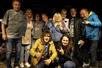 Z koncertu kapely Keks v Radimi v pátek 3. září 2021.